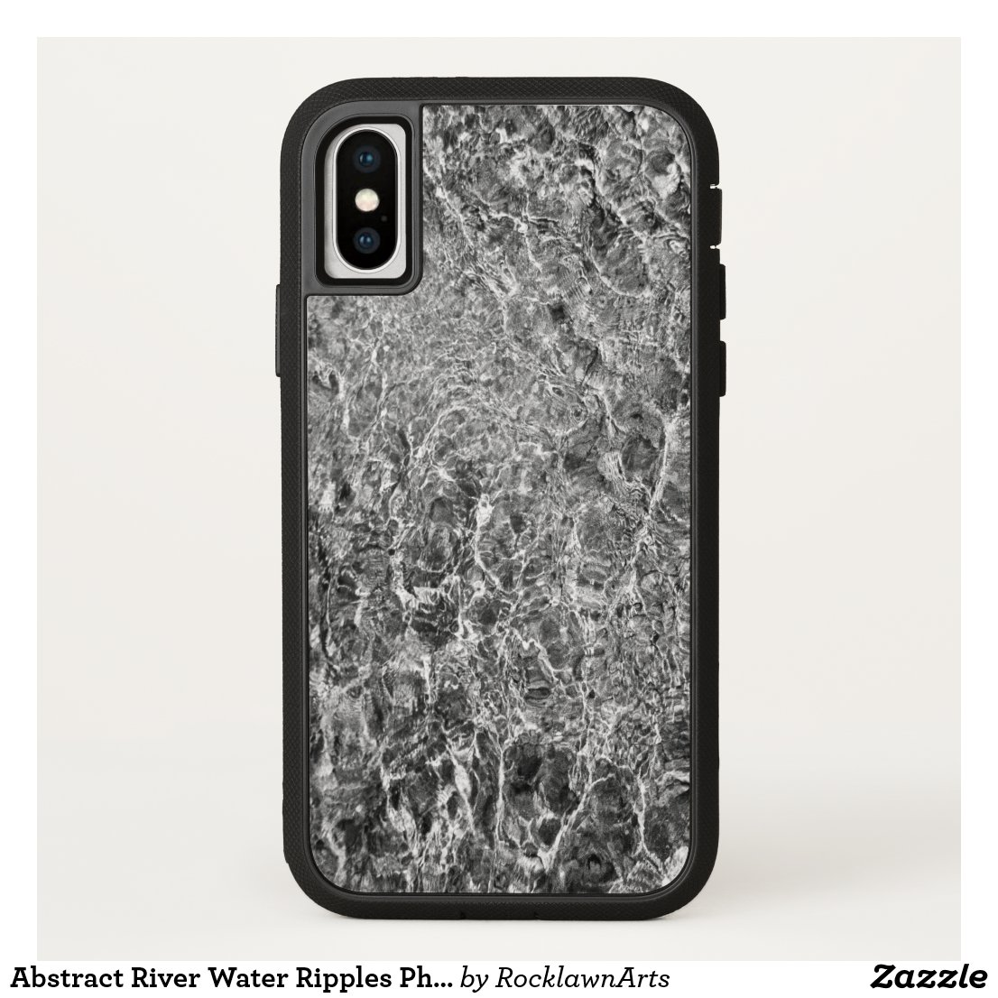 Abstract River Water Ripples Photo iPhone Case