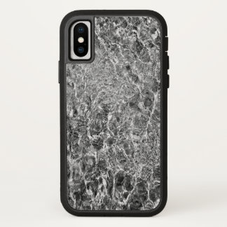 Abstract River Water Ripples Photo iPhone X Case