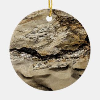 Abstract rock. ceramic ornament
