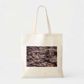 abstract rock cliff surface texture budget tote bag