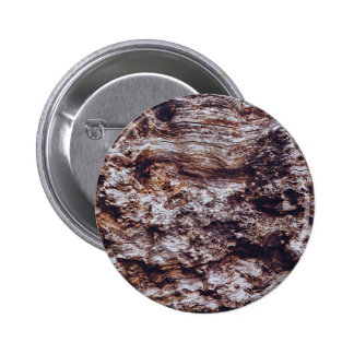 abstract rock cliff surface texture 6 cm round badge