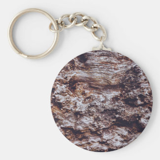 abstract rock cliff surface texture basic round button key ring