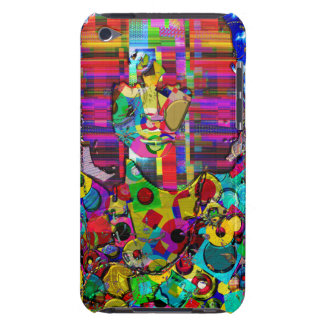 Abstract Rock Star Portrait Case-Mate iPod Touch Case
