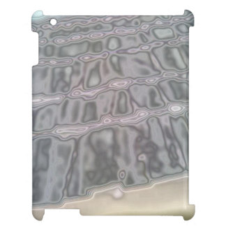 Abstract roof tile pattern iPad cases