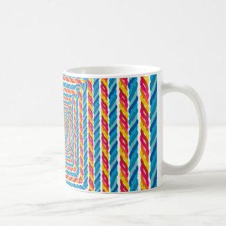 abstract rope frame coffee mug