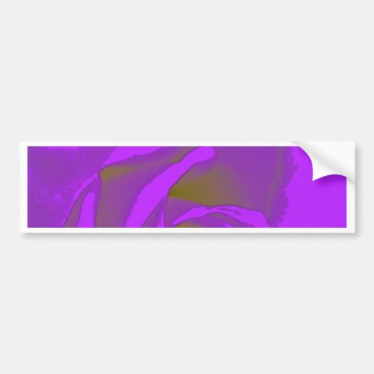 Abstract Rose Bumper Sticker