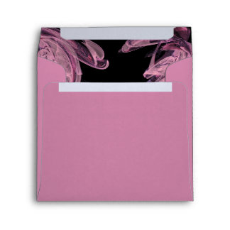 Abstract Rose Customized Envelope