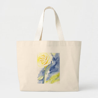 Abstract Rose Large Tote Bag