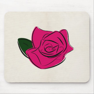 Abstract rose | Mouse Mat Mouse Pad