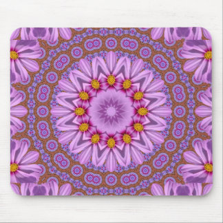Abstract rose mouse pad