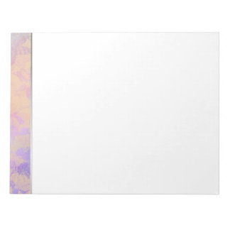 Abstract Roses In Pastel Colors Notepad