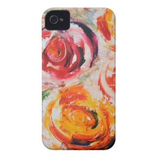 Abstract Roses iPhone 4 Cover