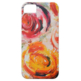 Abstract Roses iPhone SE/5/5s Case