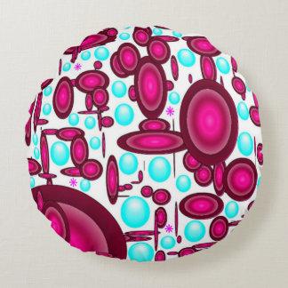 Abstract Round Throw Pillow Round Pillow