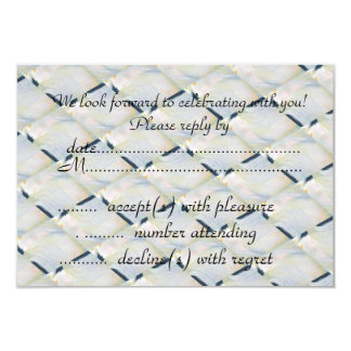 abstract rsvp card