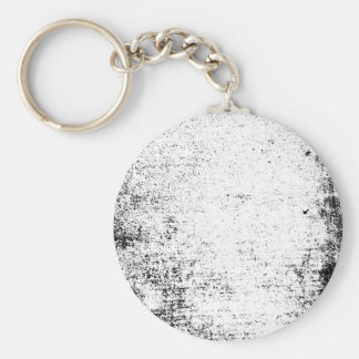 abstract ruff basic round button keychain