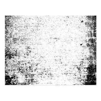 abstract ruff postcard