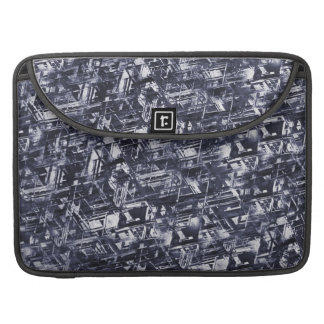 Abstract Rugged Meteorite Pattern Sleeve For MacBook Pro