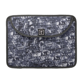 Abstract Rugged Meteorite Pattern Sleeves For MacBook Pro