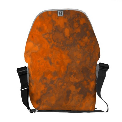 Abstract Rust Texture TPD Messenger Bag
