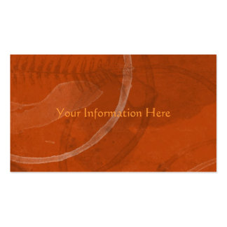 Abstract Rusty Fossil Business Cards