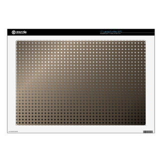 """Abstract Rusty Grid Background Skin For 17"""" Laptop"""