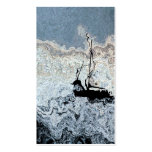 Abstract Sailboat Business Card