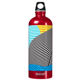 Abstract - Sailing Aluminum Water Bottle