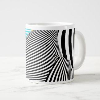 Abstract - Sailing Large Coffee Mug