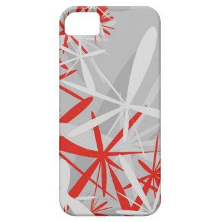 Abstract sakura starburst flower fan graphic iPhone SE/5/5s case