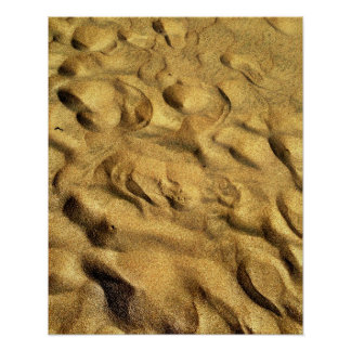 Abstract Sand Design Poster