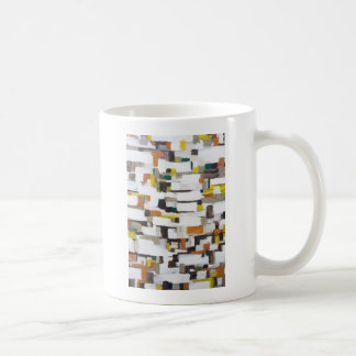 Abstract Satellite View of New York City Coffee Mug