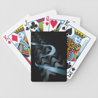 Abstract satin. bicycle playing cards