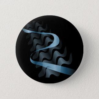 Abstract satin. pinback button