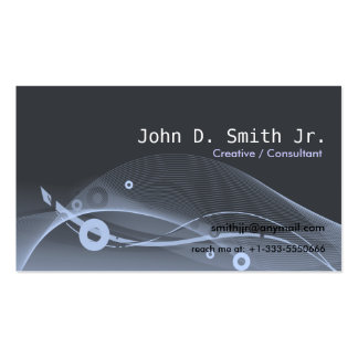 Abstract Scape Business Card Templates