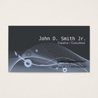 Abstract Scape Business Card