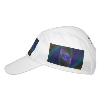 Abstract Sci-Fi Elipse Headsweats Hat