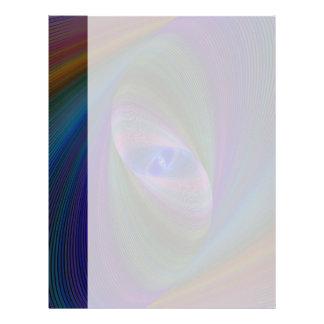 Abstract Sci-Fi Elipse Letterhead