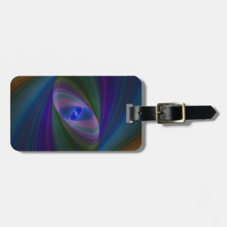 Abstract Sci-Fi Elipse Luggage Tag
