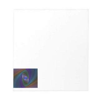 Abstract Sci-Fi Elipse Note Pad