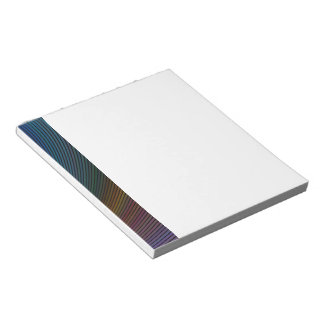Abstract Sci-Fi Elipse Notepad