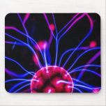 Abstract Science Plasma Ball Lamp Mouspad Mouse Mat