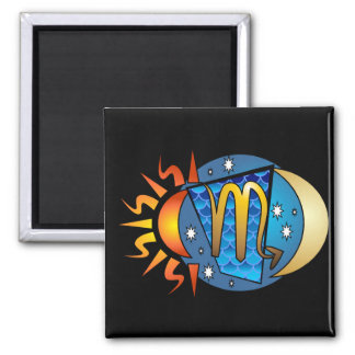 Abstract Scorpio Magnet