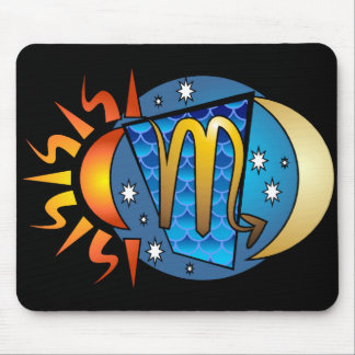 Abstract Scorpio Mousepad