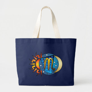 Abstract Scorpio Tote Bag