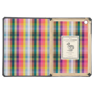 Abstract Scottish Plaid iPad Air Covers