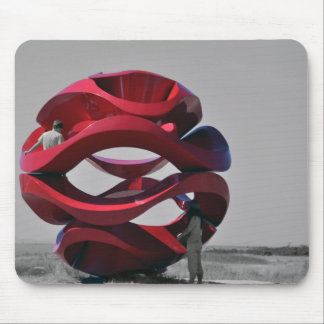 Abstract Sculpture at Park Mouse Pad