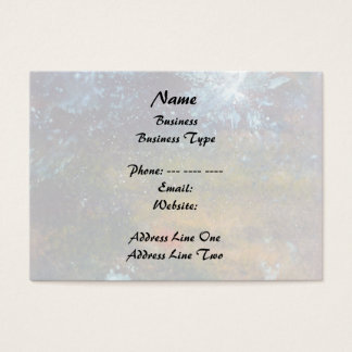 Abstract, Sea at Night. Business Card