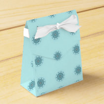 Abstract seafoam favor box
