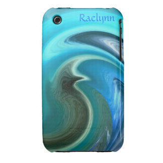 Abstract Seahorse iPod Touch Case *Personalize*